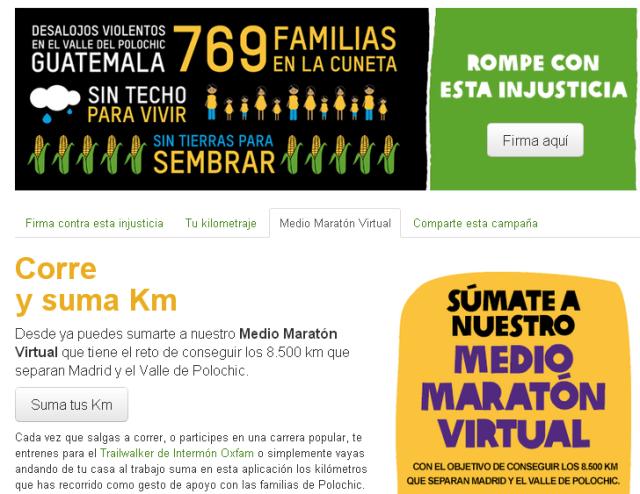 Puedes participar en el Medio Maratón Virtual