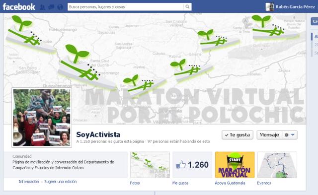 Soy activista en Facebook